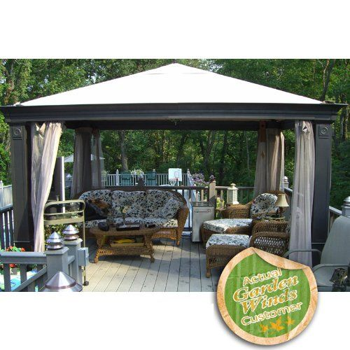 Patio Gazebos And Canopies | Replacement Canopy For Tiverton Series 3 Gazebo  Model SA 585