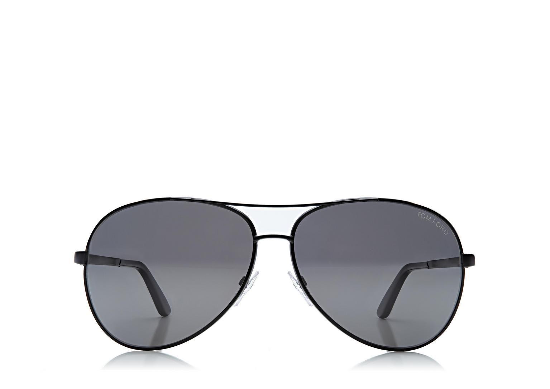 Charles Aviator Polarized Sunglasses Tom Ford