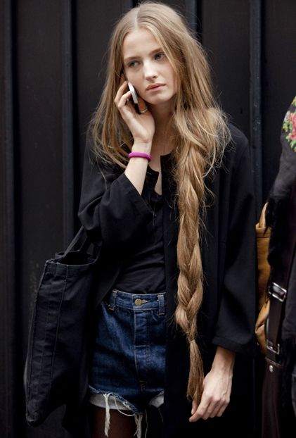 i want hair this long | Mane | Pinterest | Rapunzel hair, Long ...