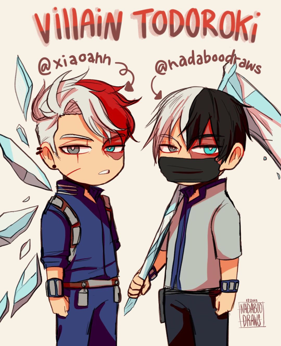 RANDOM PUNK ♥ ฅ(Wω눈ฅ) My hero academia shouto, My hero