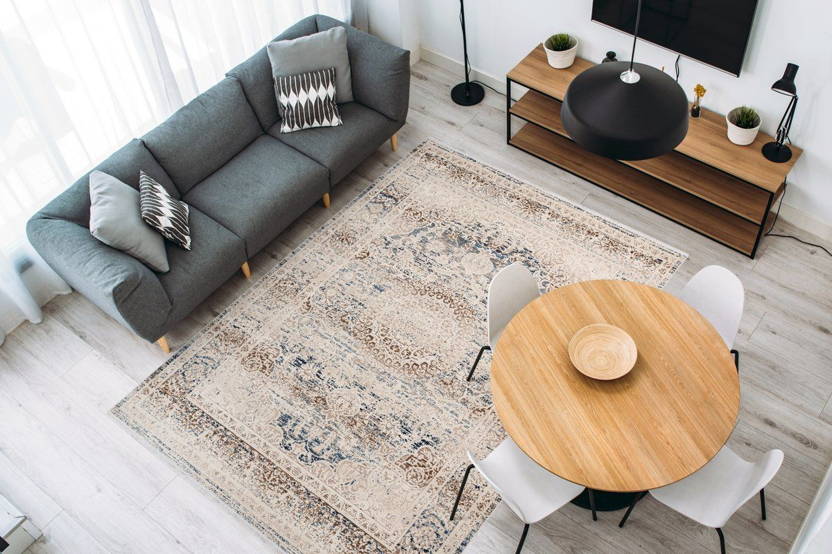 teppich anouk 1125 creme in 2020 | teppich, orientalisches