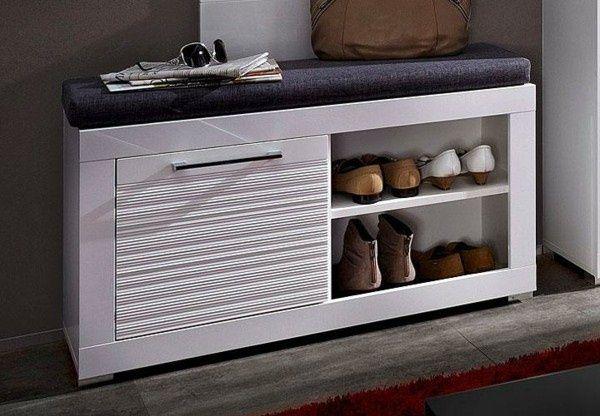 id es armoire chaussures banc des id es de rangement pour les chaussures ensemble couloir. Black Bedroom Furniture Sets. Home Design Ideas