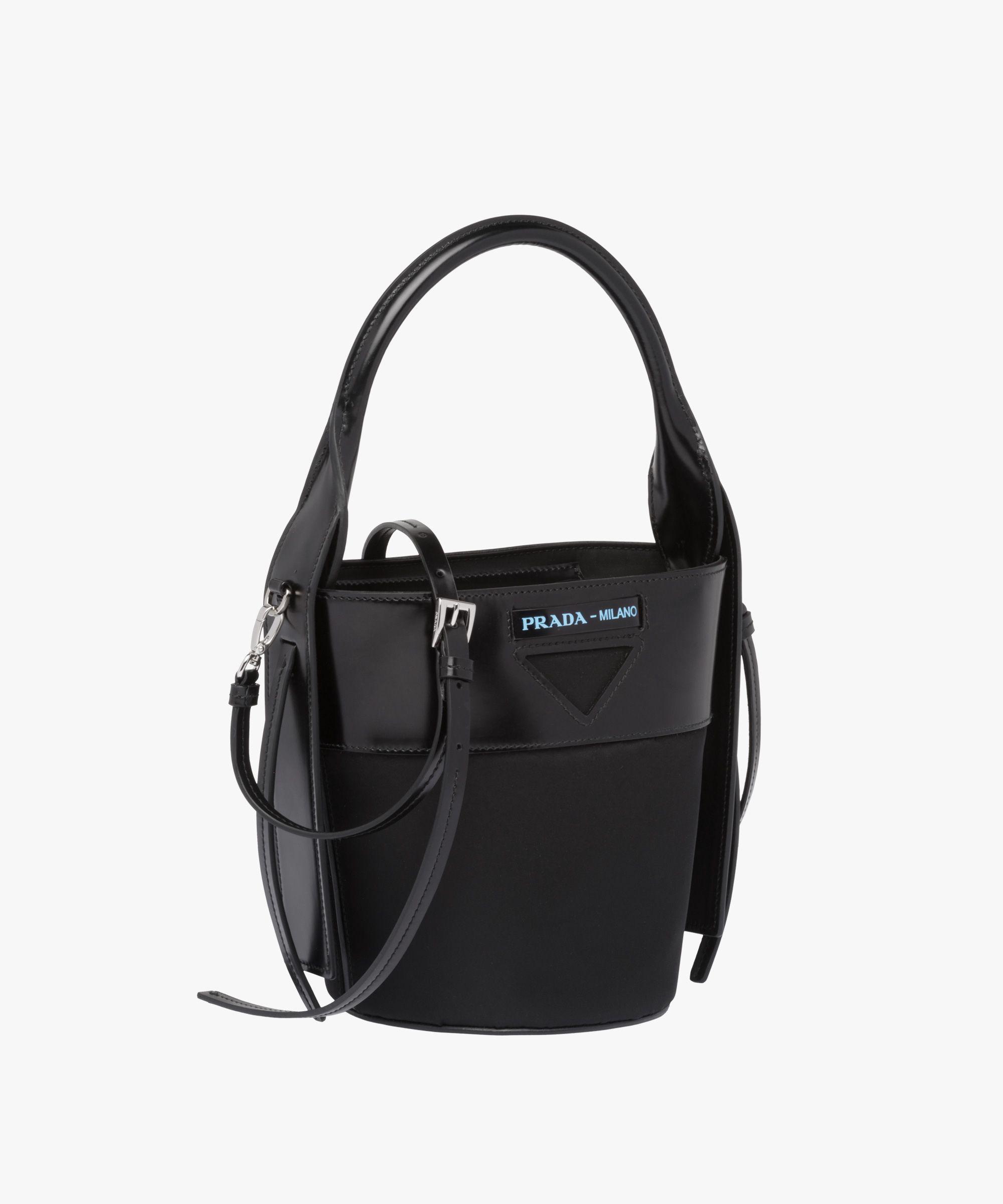 c31b41b8f6 Prada - Ouverture black nylon bucket bag | BAGS in 2019 | Bags, Mens ...