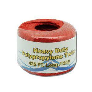 Heavy Duty Polypropylene Red Twine 425 Ft 130 M By Twine 6 49 Heavy Duty Polypropylene Red Twine 425 Ft 130 M Great Fo Heavy Duty Polypropylene Twine