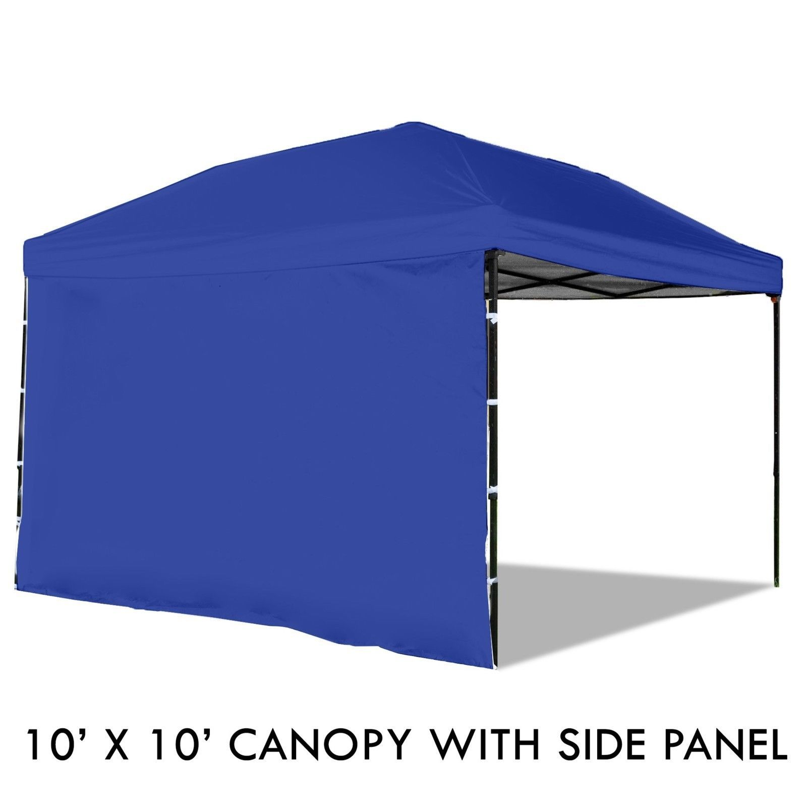 Pop Up Canopy Tent Sidewall 10 X 10 Feet Blue Uv Coated Waterproof Outdoors All Proceeds Go To The Disabled Canopy Tent Rustic Canopy Beds Canopy