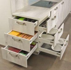 """Multilevel: Richtungsweisender Schubladenschrank von kuhlmann Küchen (Bildque #pantrycabinet """"Multilevel"""": Richtungsweisender Schubladenschrank von kuhlmann Küchen (Bildque… #pantrycabinet"""