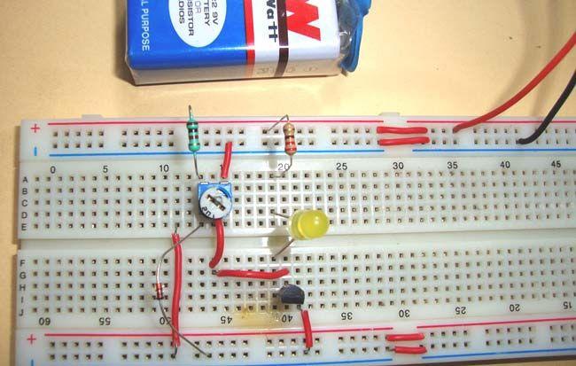 Sensor Circuit Diagram