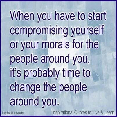 Compromise Of Moral Values Quotes Wisdom Value Quotes Wisdom
