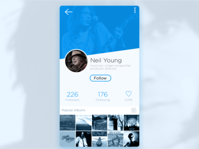Profile Screen | inspiration | Screen design, Ui ux design