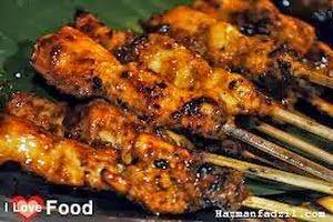 Resepi Satay Kajang Sate Ayam Haji Samuri Makanan Resep Ayam