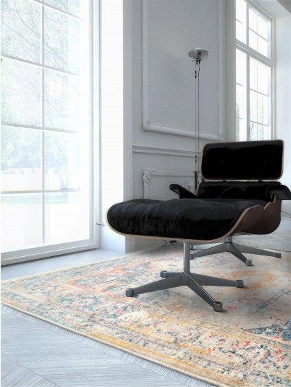 Benuta Teppich teppich vintage safira blau schlafzimmer benuta