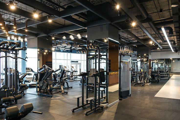 Palestra Fitness Club Full Project On Behance Eignung Gym Design Home Gym Design Gym Interior