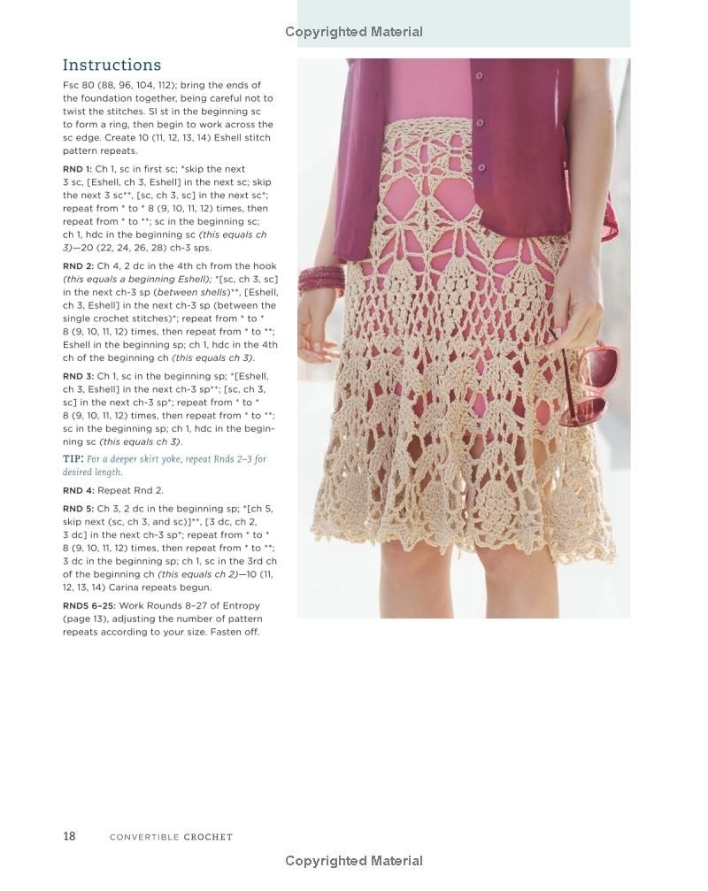 Convertible Crochet Customizable Designs For Stylish Garments All Shawl Stitch Diagrams Doris Chan 9780307965707 Amazon