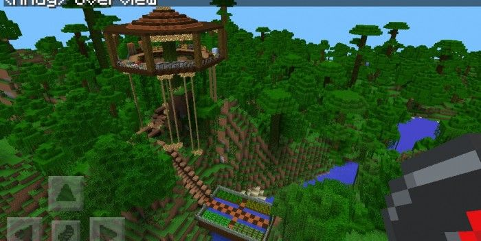 Minecraft Jungle Treehouse Design Google Search Tree House