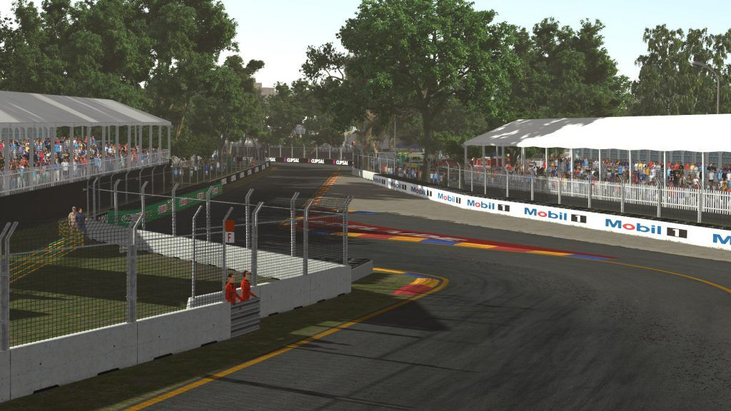 Adelaide street circuit released on rFactor 2   Pitlanes com