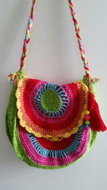 #crochê Esta é pra minha filhota! Amo cores!!