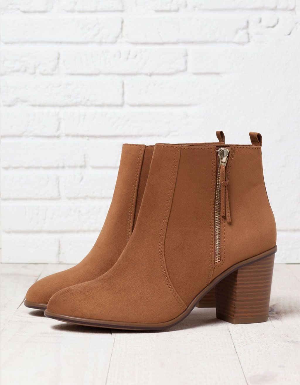 bershka boots with heels - shoes - bershka serbia | bottine à