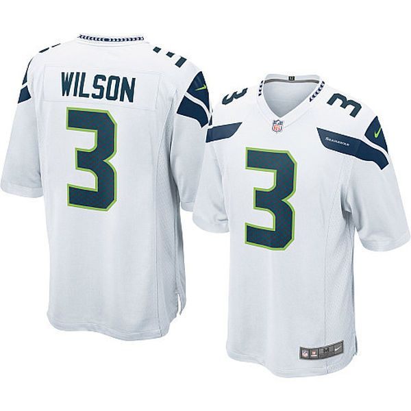 white seahawks jersey