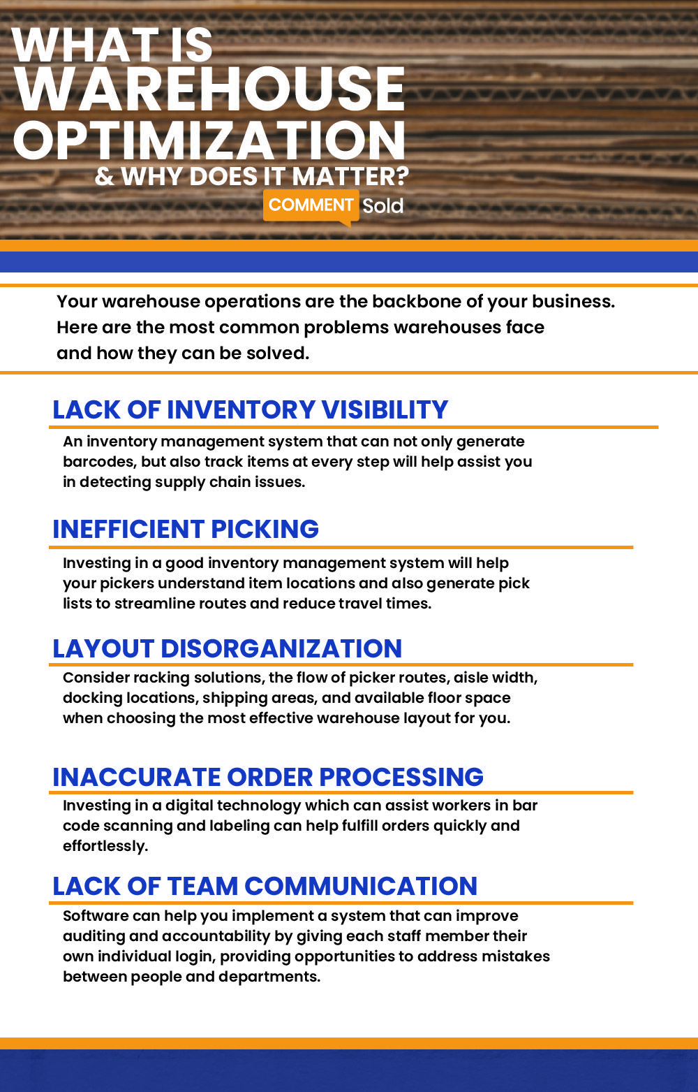 What Is Warehouse Optimization Why Does It Matter Inventory