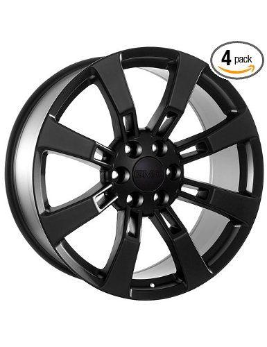 Black 20 Inch Rims Gmc Custom Oem Aftermarket Wheels Tires