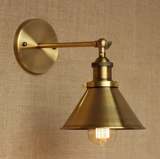 Retro Loft Edison Wall Sconce Simple Vintage Wall Light Fixtures
