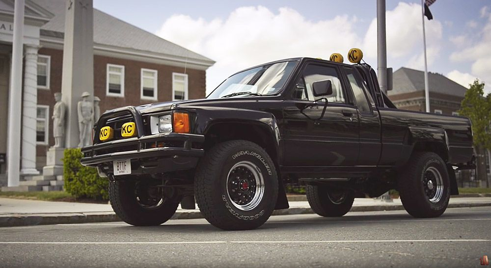 Auto Film 1985 Toyota Sr5 Xtra Cab Marty S Back To The Future