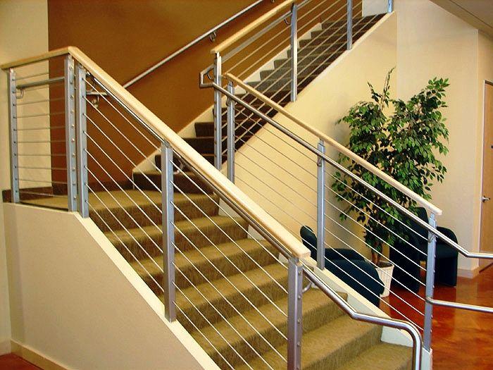 Best Modern Stairs Metal Wood Railing Google Search Modern 400 x 300