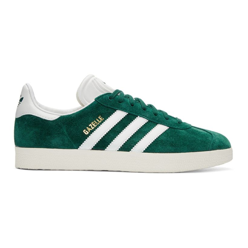 adidas Originals Green Suede Gazelle OG Sneakers   Rock und