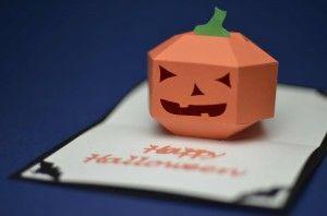 Halloween Pop Up Card 3d Pumpkin Tutorial Creative Pop Up Cards Halloween Pop Up Cards Pop Up Card Templates Pop Up Cards