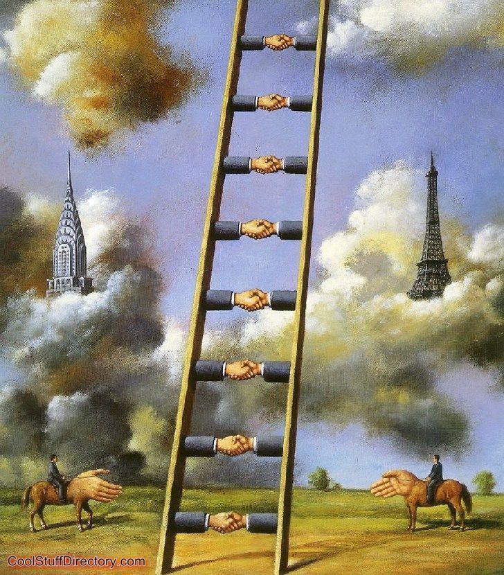 Poetic Surrealism by Rafal Olbinski (30 Pics) ~ Cool Stuff Directory