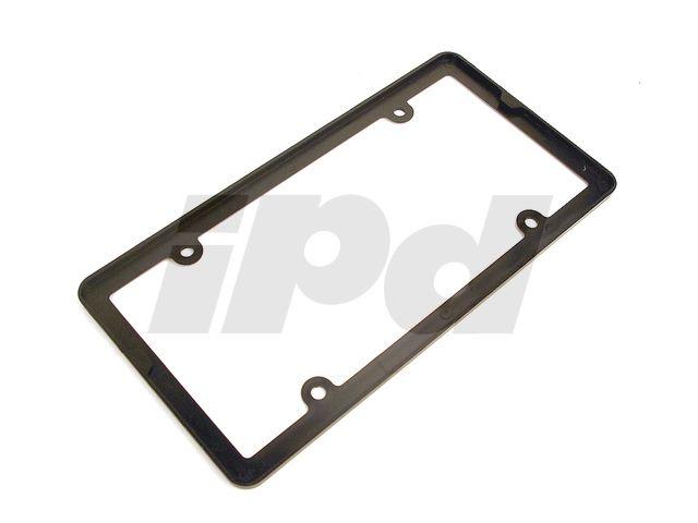 115527 PLAIN BLACK PLASTIC LICENSE PLATE FRAME | V70N | Pinterest ...
