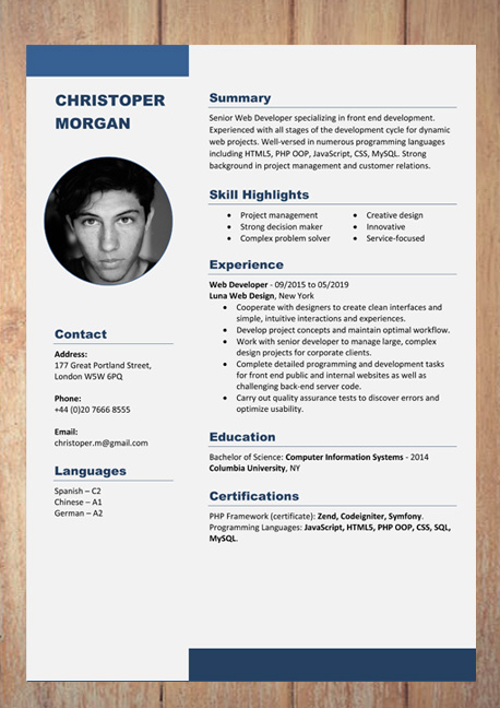 Cv Resume Templates Examples Doc Word Download Resume Template Examples Cv Templates Free Download Resume Template Free