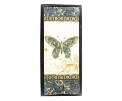 Quadro Arabesc Butterflies - 24X55cm