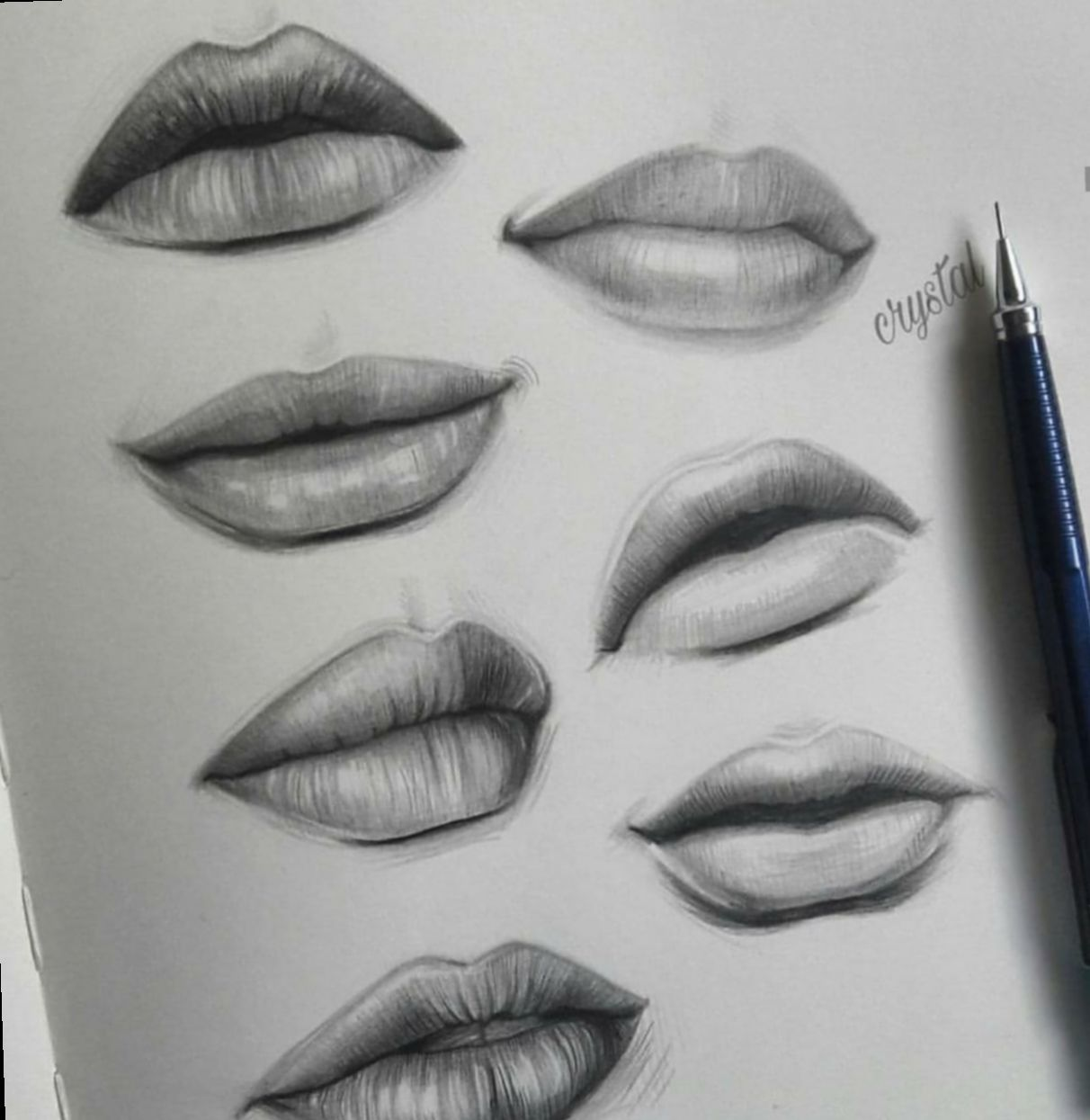7+ Fashion Sketchbook Videos Aesthetic Lips sketch