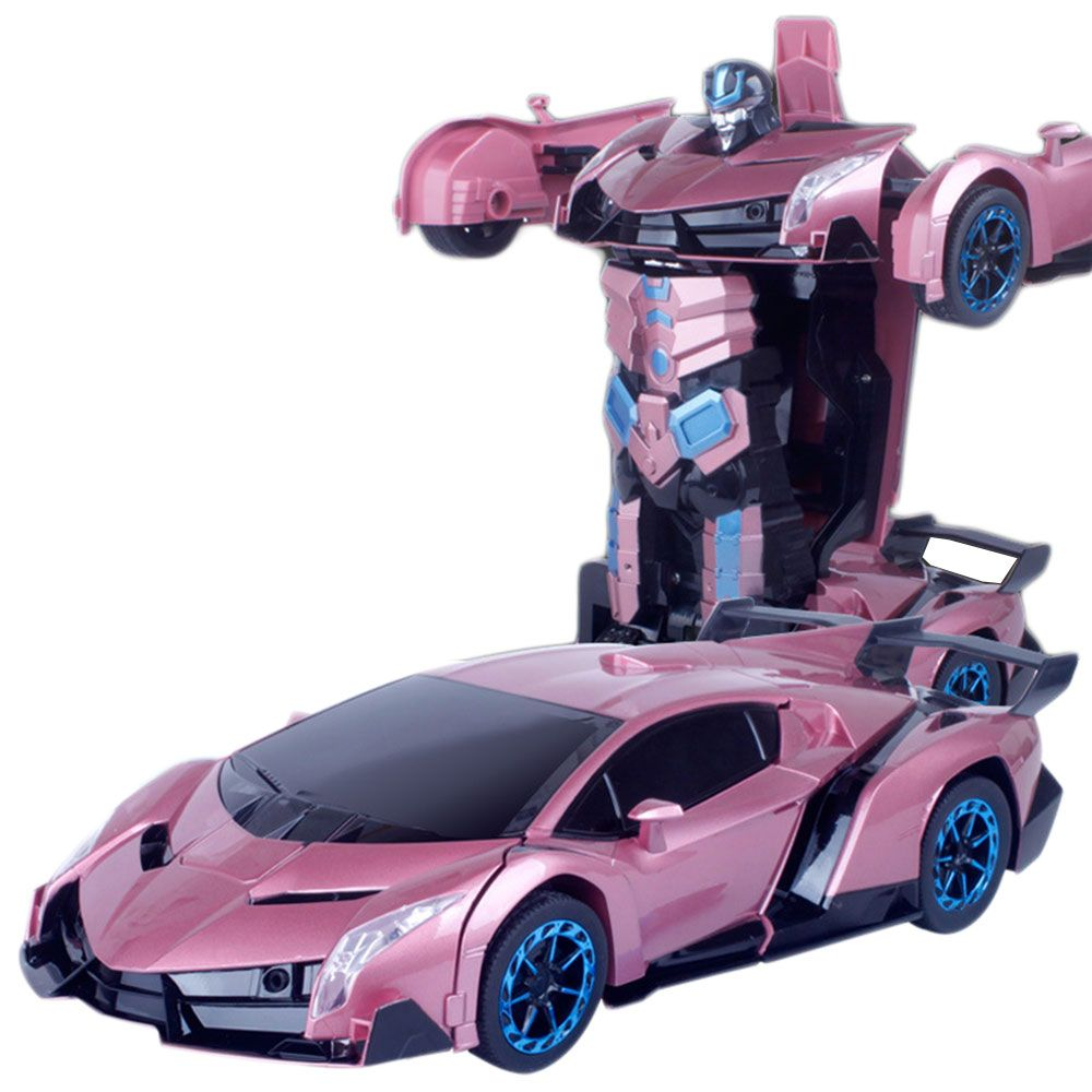 Inductive Toy Car Diecast Models Deformation Car Robot ...