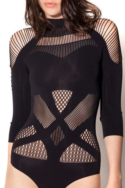 A-Sassy-Nation Bodysuit from Black milk clothing. I have a long torso, though and fear it will be too short on me :(