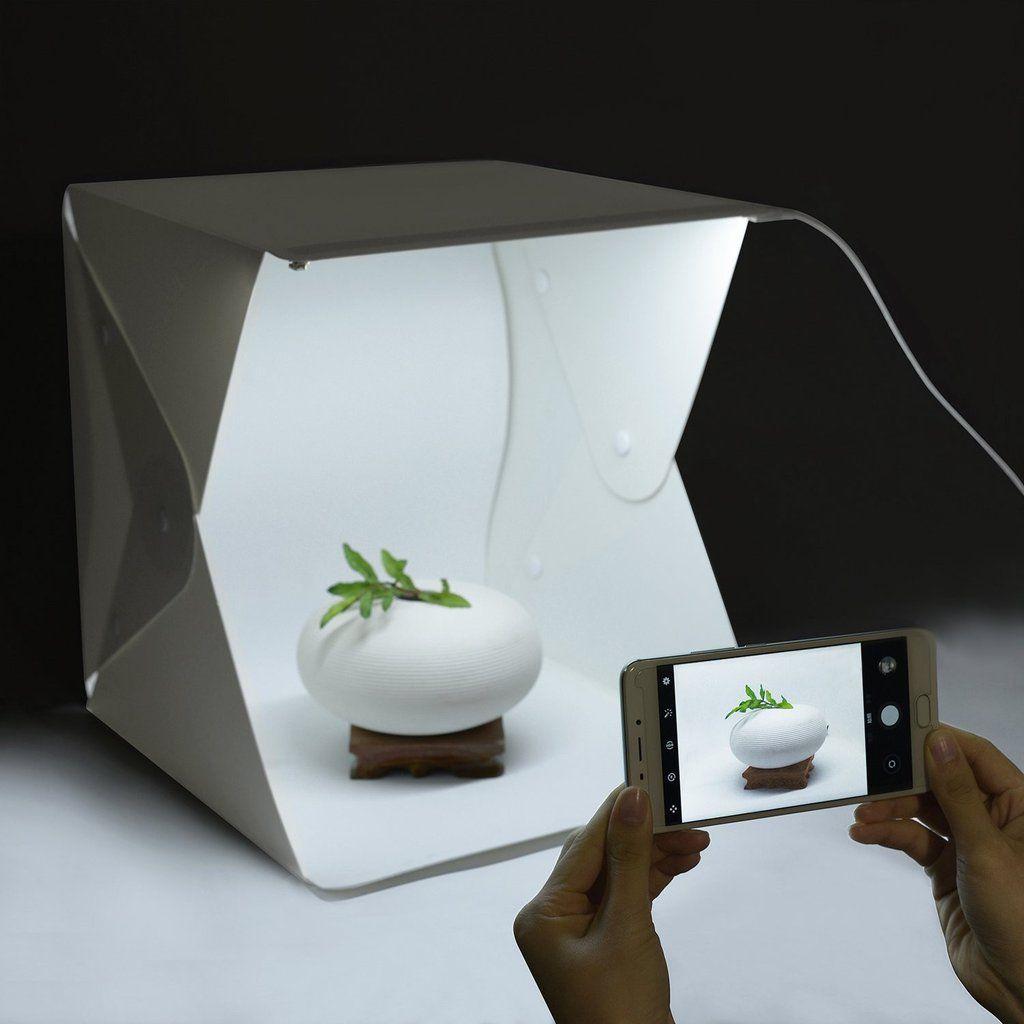 Mini LED Studio Photo Box – Bentley Goods | Food Photography ...