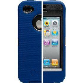 OtterBox Universal Defender Case for iPhone 4 (Zircon Blue Silicone & Black Plastic)  $20.94