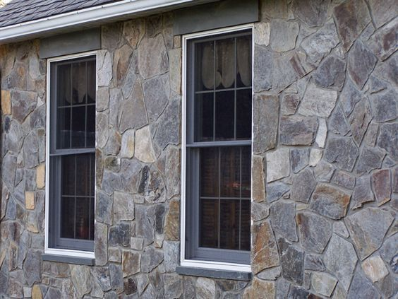 Cobblefield Gray Brick Exterior House Stone Exterior Houses Exterior Brick