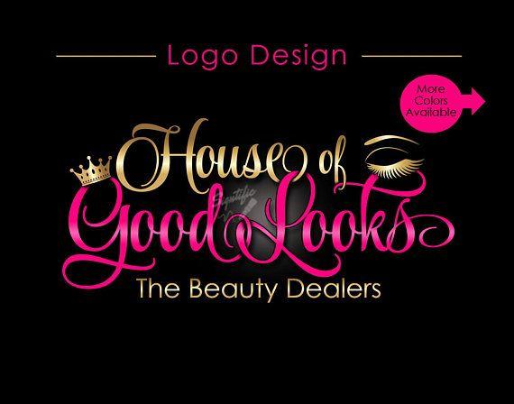 Custom Logo, Eyelash Salon Logo, Makeup Logo, Makeup Artistry Logo