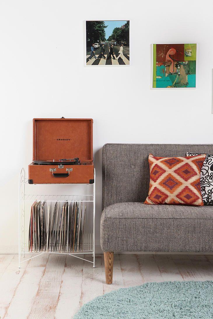 Vinyl Record Storage Shelf   Wohnen