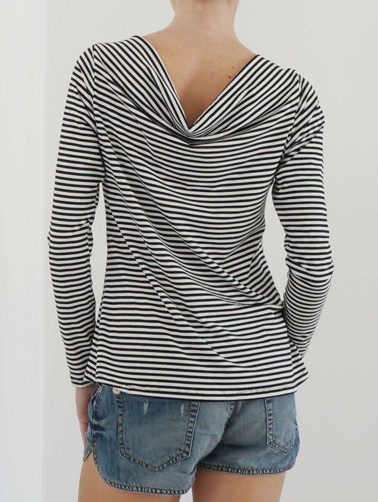 9d979e285 Blusa Feminina Drapeada Listras - Handmade - moda sob medida ou pronta  entrega
