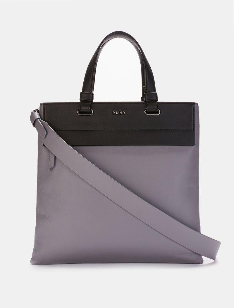 Tote - Paige LG Satchel Bag Clay - grey - Tote for ladies DKNY 1SUUzdrw
