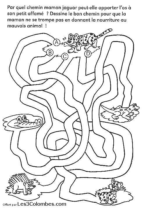 Labyrinthe Coloriages 47 Coloriage En Ligne Gratuit Pour Enfant Arbeit Viel Arbeit Ideen