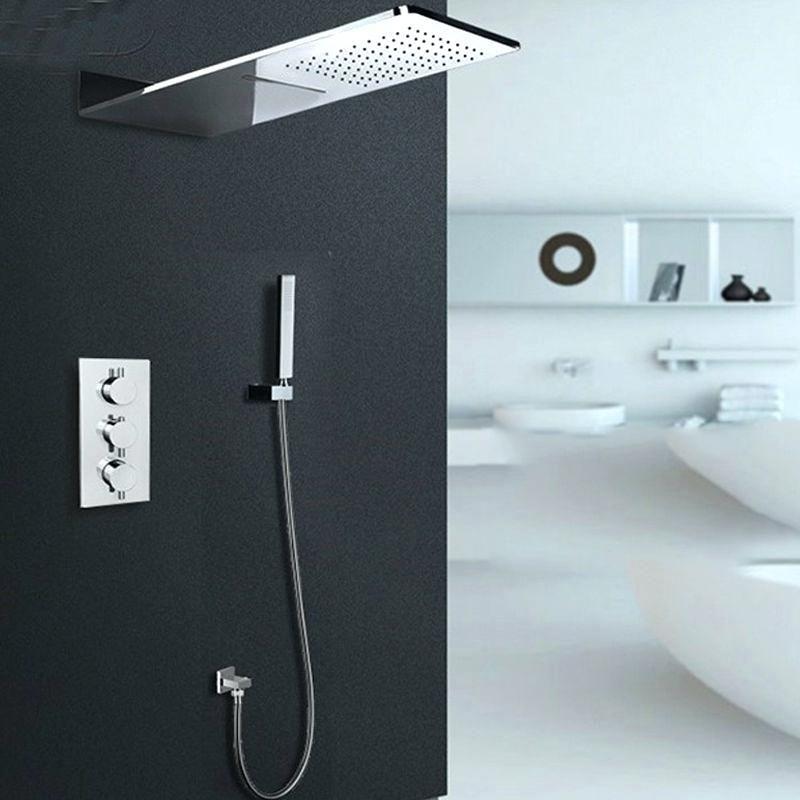 Jmkws Thermostatic Showerheads Modern Wall Ceiling Bath Accessories ...