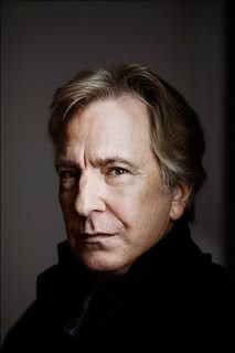 Alan Rickman. His voice. And his acting. Are freaking awesome. Seriously. I think I would just die if he said hello to me.