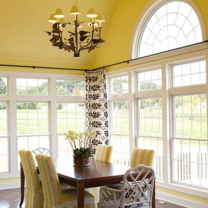 Sunroom Curtain Rods Window Curtain Ideas Design Ideas Pictures