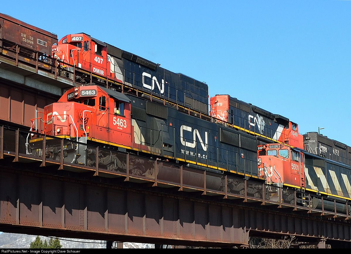 Minnesota ore docks. Photo Dave Schauer
