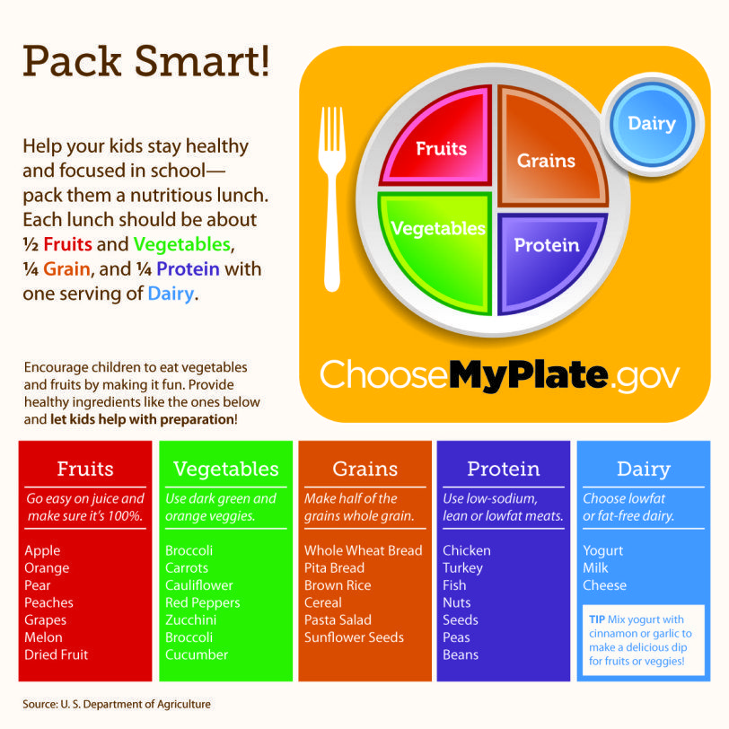 Breaking down MyPlate Nutrition chart, National