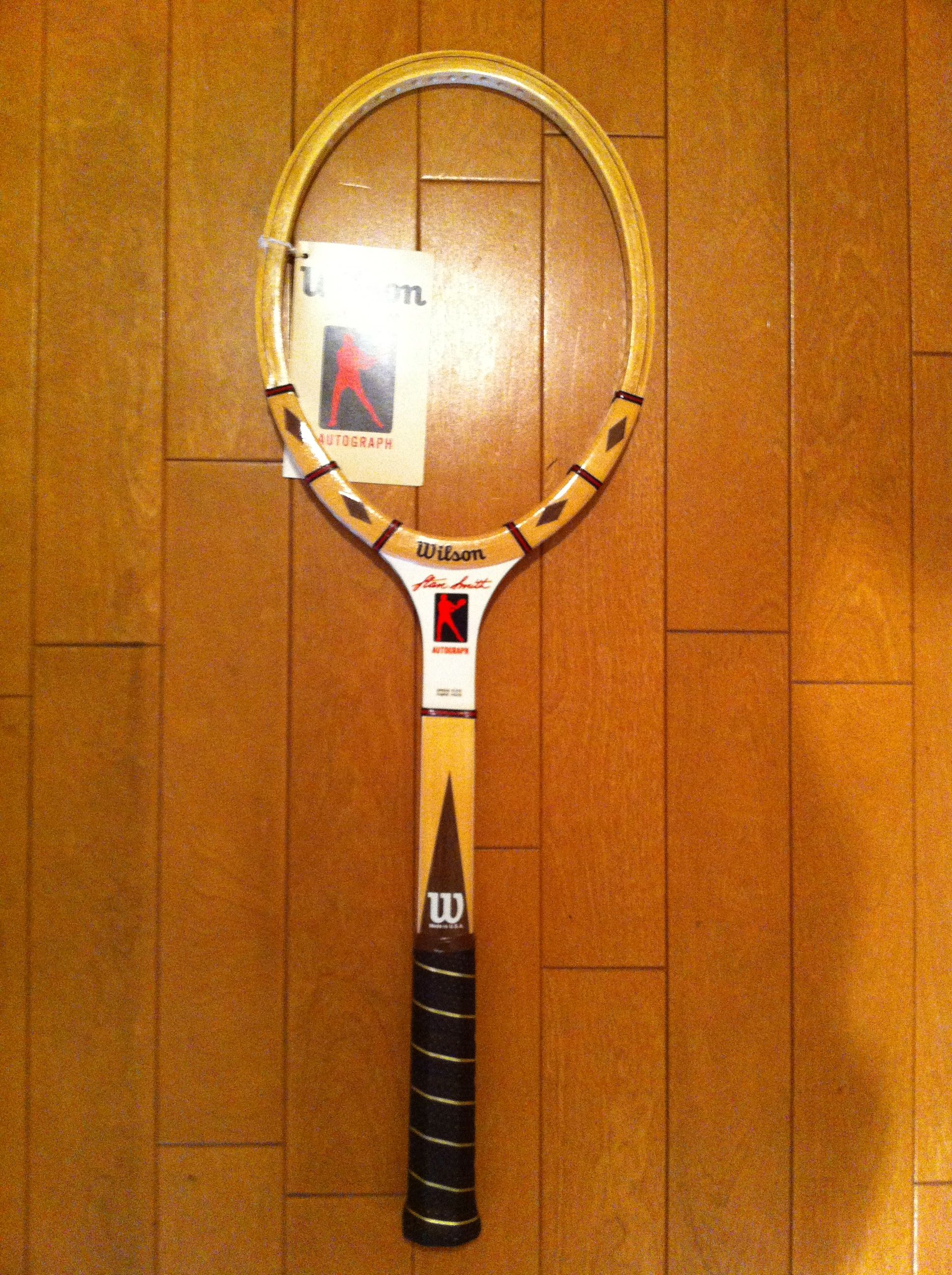 the best attitude 822ab d522a Wilson Stan Smith | Wood racket | テニス